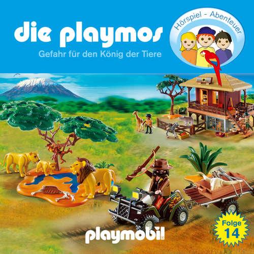 Hoerbuch Die Playmos - Das Original Playmobil Hörspiel, Folge 14: Gefahr für den König der Tiere - Simon X. Rost - Gerrit Schmidt-Foß