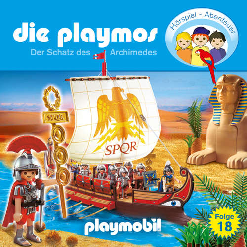 Hoerbuch Die Playmos - Das Original Playmobil Hörspiel, Folge 18: Der Schatz des Archimedes - Simon X. Rost - Gerrit Schmidt-Foß
