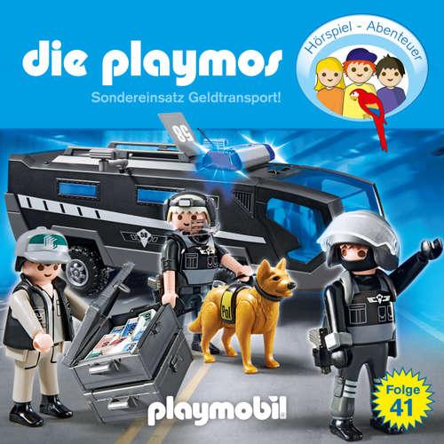 Hoerbuch Die Playmos - Das Original Playmobil Hörspiel, Folge 41: Sondereinsatz Geldtransport! - Simon X. Rost - Gerrit Schmidt-Foß