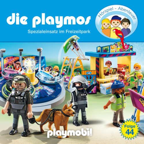 Hoerbuch Die Playmos - Das Original Playmobil Hörspiel, Folge 44: Spezialeinsatz im Freizeitpark - Simon X. Rost - Gerrit Schmidt-Foß
