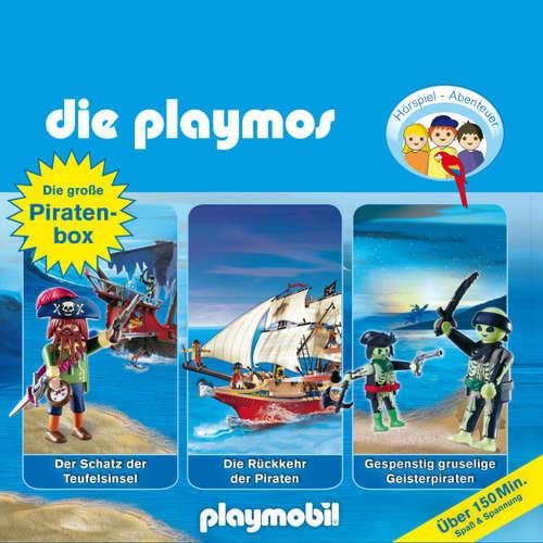 Hoerbuch Die Playmos - Das Original Playmobil Hörspiel, Die große Piraten-Box, Folgen 1, 16, 22 - Simon X. Rost - Gerrit Schmidt-Foß