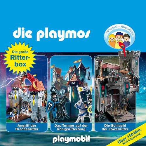 Hoerbuch Die Playmos - Das Original Playmobil Hörspiel, Die große Ritter-Box, Folgen 2, 8, 20 - Simon X. Rost - Gerrit Schmidt-Foß