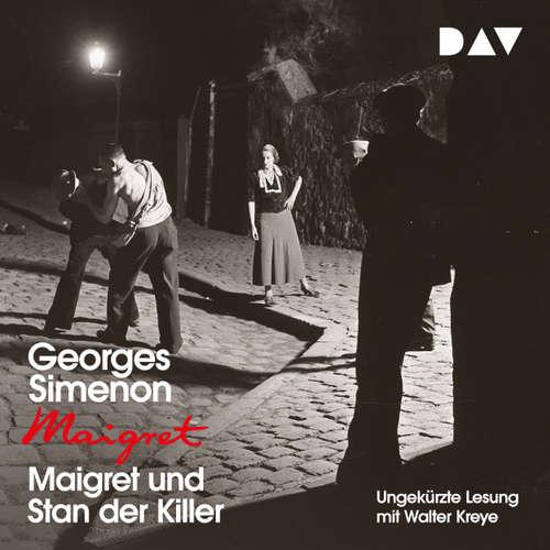 Hoerbuch Maigret und Stan der Killer - Georges Simenon - Walter Kreye