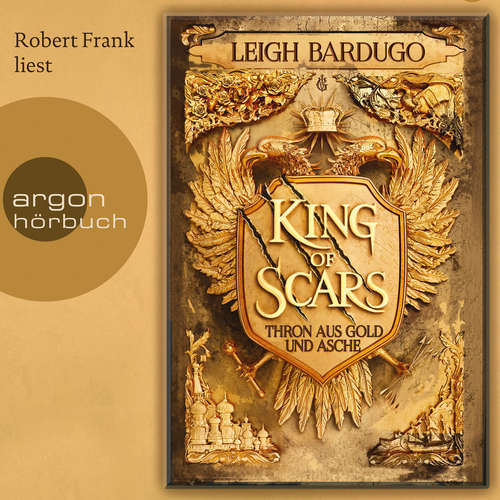 Audiobook King of Scars - Leigh Bardugo - Robert Frank