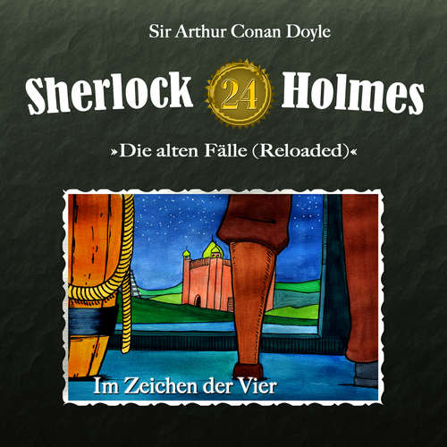 Hoerbuch Sherlock Holmes, Die alten Fälle (Reloaded), Fall 24: Im Zeichen der Vier - Arthur Conan Doyle - Christian Rode