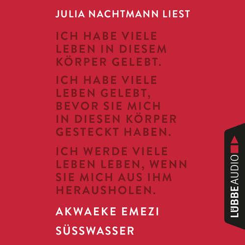 Hoerbuch Süßwasser - Akwaeke Emezi - Julia Nachtmann