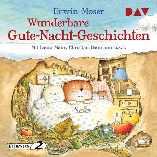 Hoerbuch Wunderbare Gute-Nacht-Geschichten - Erwin Moser - Laura Maire