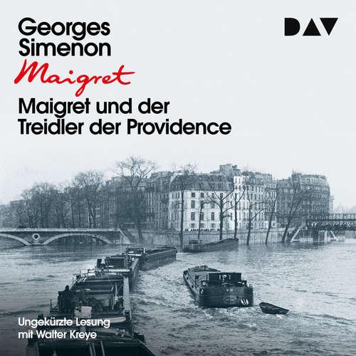 Hoerbuch Maigret und der Treidler der Providence - Georges Simenon - Walter Kreye