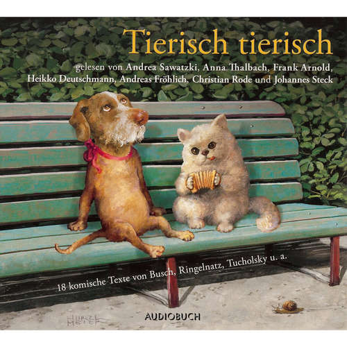 Hoerbuch Tierisch tierisch - Christian Morgenstern - Andrea Sawatzki