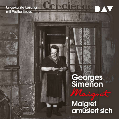 Hoerbuch Maigret amüsiert sich - Georges Simenon - Walter Kreye