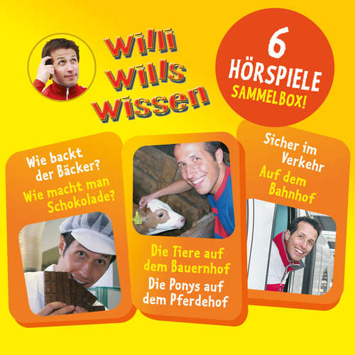 Hoerbuch Willi wills wissen, Sammelbox 1: Folgen 1-3 - Florian Fickel - Willi Weitzel