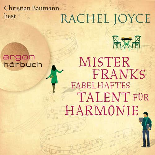 Hoerbuch Mister Franks fabelhaftes Talent für Harmonie - Rachel Joyce - Christian Baumann