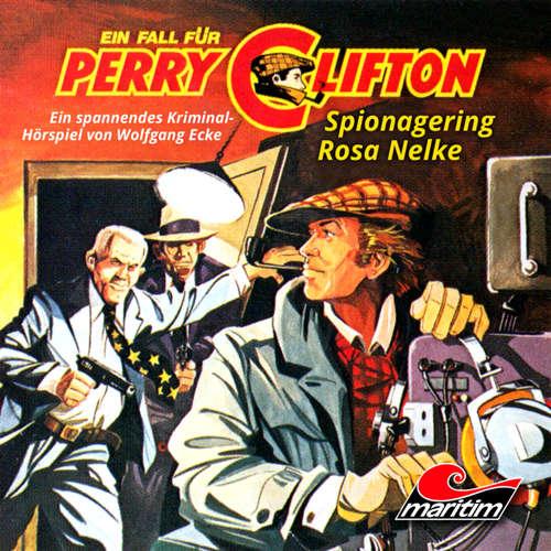 Hoerbuch Perry Clifton, Folge 2: Spionagering Rosa Nelke - Wolfgang Ecke - Heiner Schmidt