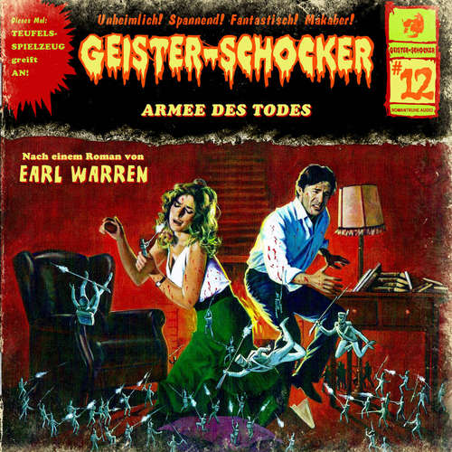 Hoerbuch Geister-Schocker, Folge 12: Armee des Todes - Earl Warren - Karlheinz Tafel
