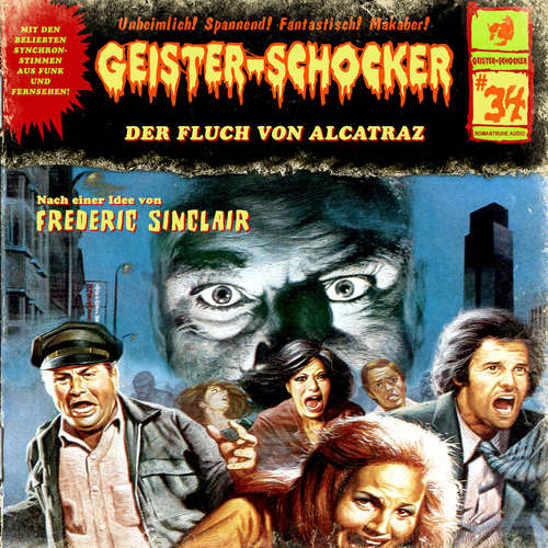 Hoerbuch Geister-Schocker, Folge 34: Der Fluch von Alcatraz - Frederic Sinclair - Karen Schulz-Vobach