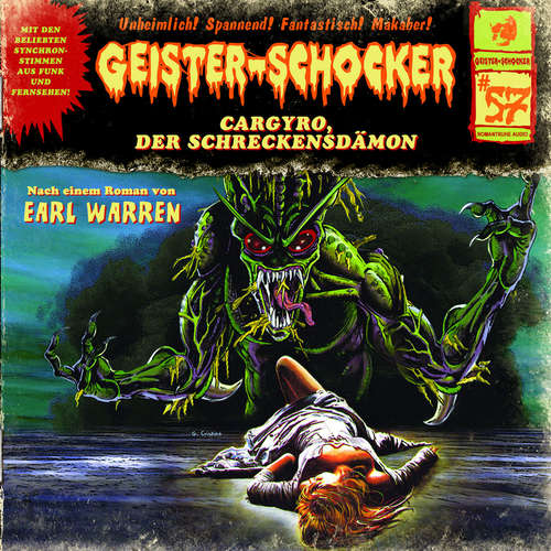 Hoerbuch Geister-Schocker, Folge 57: Cargyro, der Schreckensdämon - Earl Warren - Helgo Liebig