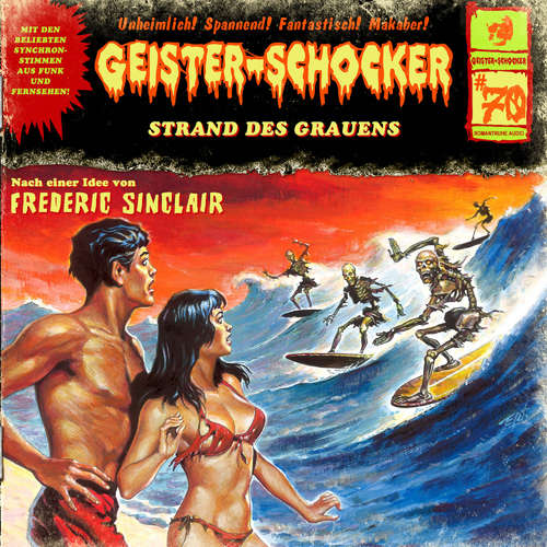 Hoerbuch Geister-Schocker, Folge 70: Strand des Grauens - Frederic Sinclair - Jenny Maria Mayer