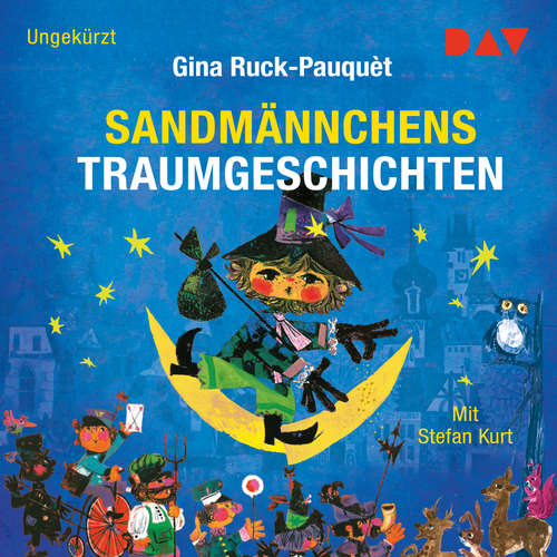 Hoerbuch Sandmännchens Traumgeschichten - Gina Ruck-Pauquèt - Stefan Kurt