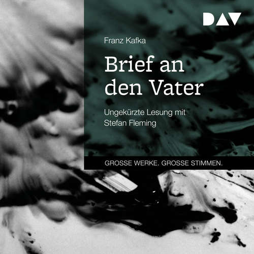 Hoerbuch Brief an den Vater - Franz Kafka - Stefan Fleming