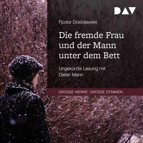 Hoerbuch Die fremde Frau und der Mann unter dem Bett - Fjodor Dostojewski - Dieter Mann