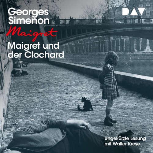 Hoerbuch Maigret und der Clochard - Georges Simenon - Walter Kreye