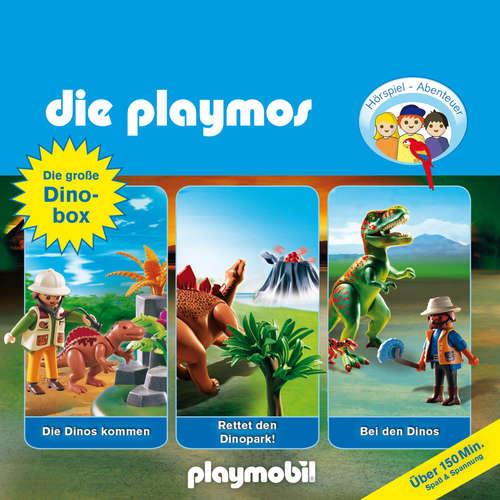 Hoerbuch Die Playmos - Das Original Playmobil Hörspiel, Die große Dino-Box, Folgen 3, 17, 30 - Simon X. Rost - Gerrit Schmidt-Foß