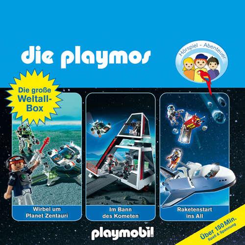 Hoerbuch Die Playmos - Das Original Playmobil Hörspiel, Die große Weltall-Box, Folgen 29, 36, 48 - Simon X. Rost & Florian Fickel - Gerrit Schmidt-Foß