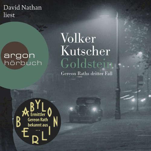 Hoerbuch Goldstein - Gereon Raths dritter Fall - Volker Kutscher - David Nathan