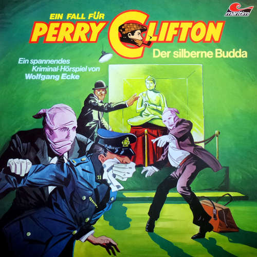 Hoerbuch Perry Clifton, Folge 1: Der silberne Buddha - Wolfgang Ecke - Heiner Schmidt