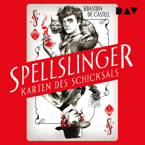 Hoerbuch Karten des Schicksals - Spellslinger, Teil 1 - Sebastien de Castell - Dirk Petrick