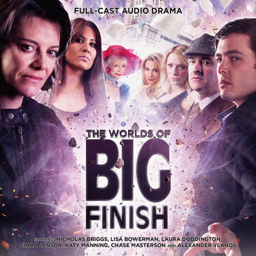 Audiobook The Worlds of Big Finish - David Llewellyn - Lisa Bowerman