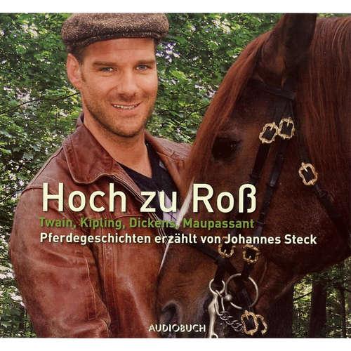 Hoerbuch Hoch zu Roß - Pferdegeschichten erzählt von Johannes Steck - Charles Dickens - Johannes Steck