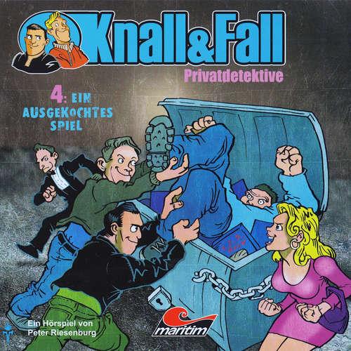 Hoerbuch Knall & Fall Privatdetektive, Folge 4: Ein ausgekochtes Spiel - Peter Riesenburg - Claus Wilcke