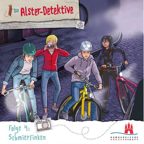 Hoerbuch Die Alster-Detektive, Folge 4: Schmierfinken - Katrin Wiegand - Oliver Rohrbeck