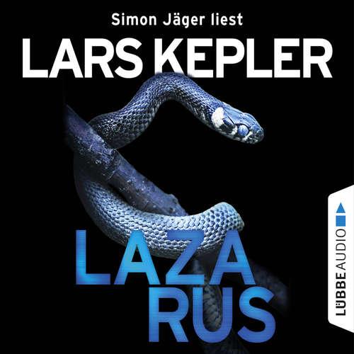 Hoerbuch Lazarus - Joona Linna, Teil 7 - Lars Kepler - Simon Jäger