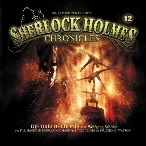 Hoerbuch Sherlock Holmes Chronicles, Folge 12: Die drei Beldonis - Wolfgang Schüler - Tom Jacobs