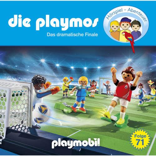 Hoerbuch Die Playmos, Folge 71: Das dramatische Finale - Simon X. Rost - Gerrit Schmidt-Foß