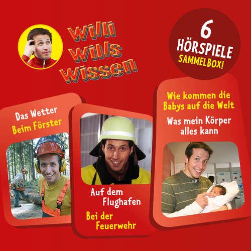 Hoerbuch Willi wills wissen, Sammelbox 4: Folgen 10-12 - Jessica Sabasch - Willi Weitzel