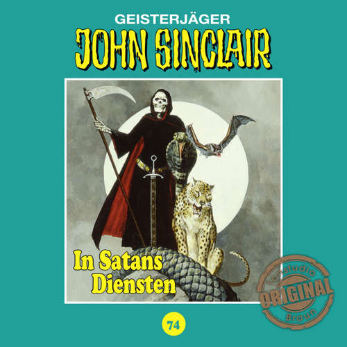 Hoerbuch John Sinclair, Tonstudio Braun, Folge 74: In Satans Diensten - Jason Dark -  Diverse