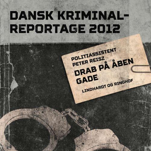 Audiokniha Drab på åben gade - Dansk Kriminalreportage - Peter Reisz - Finn Andersen