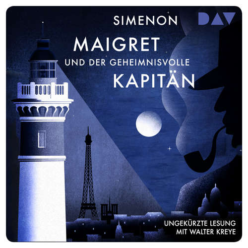 Hoerbuch Maigret und der geheimnisvolle Kapitän - Georges Simenon - Walter Kreye