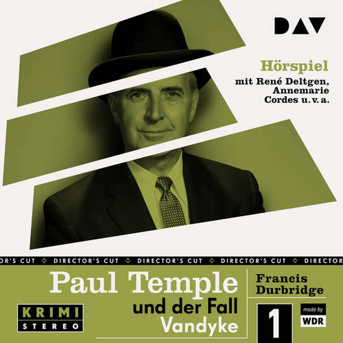 Hoerbuch Paul Temple und der Fall Vandyke (Original-Radio-Fassung) (Ungekürzt) - Francis Durbridge - René Deltgen