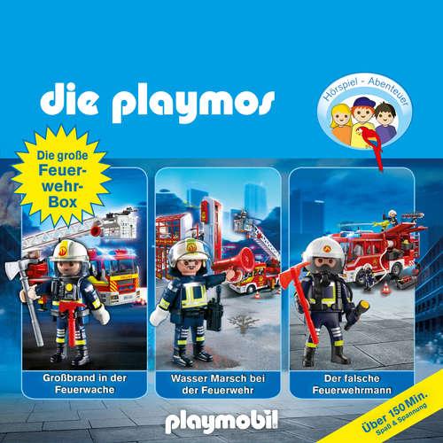 Hoerbuch Die Playmos - Das Original Playmobil Hörspiel, Die große Feuerwehr-Box, Folgen 42, 57, 62 - David Bredel - Gerrit Schmidt-Foß