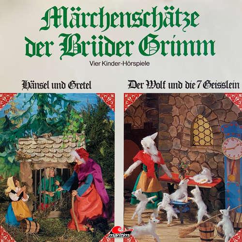 Hoerbuch Märchenschätze der Brüder Grimm, Folge 1: Hänsel und Gretel, Der Wolf und die sieben Geißlein, Rotkäppchen, Rumpelstilzchen - Gebrüder Grimm - Dagmar von Kunin