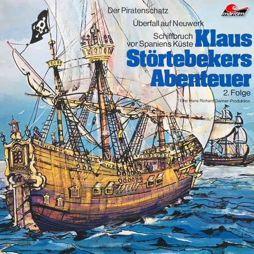 Hoerbuch Klaus Störtebekers Abenteuer, Folge 2: Der Piratenschatz und andere Abenteuer - Ellen Baier - Hans Stetter
