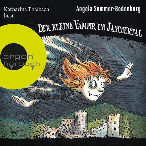 Hoerbuch Der kleine Vampir im Jammertal - Der kleine Vampir, Band 7 - Angela Sommer-Bodenburg - Katharina Thalbach