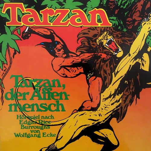 Hoerbuch Tarzan, Folge 1: Tarzan, der Affenmensch - Edgar Rice Burroughs - Wolfgang Reinsch