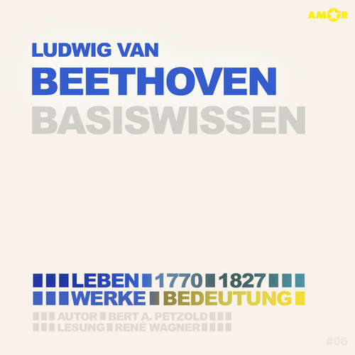 Hoerbuch Ludwig van Beethoven (1770-1827) Basiswissen - Leben, Werk, Bedeutung (Ungekürzt) - Bert Alexander Petzold - René Wagner