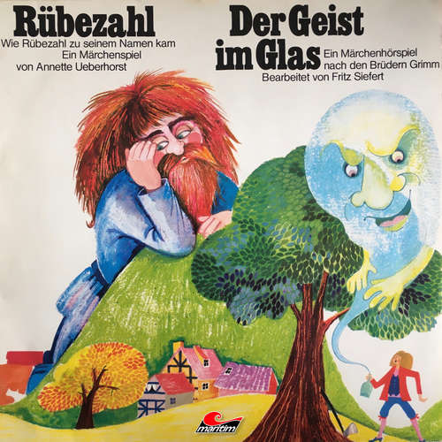 Hoerbuch Gebrüder Grimm, Annette Ueberhorst, Rübezahl / Der Geist im Glas - Gebrüder Grimm - Harald Vogelsang