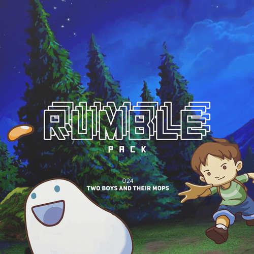 Hoerbuch Rumble Pack - Die Gaming-Sendung, Folge 24: Two Boys and Their Mops - Julian Laschewski - Julian Laschewski